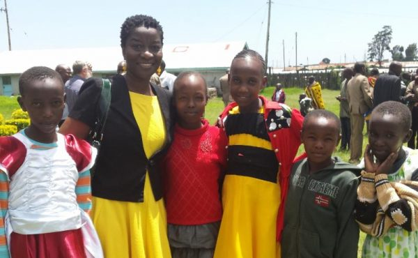 Angeline Chichaya is Christ's hands and feet during a short-term mission trip.