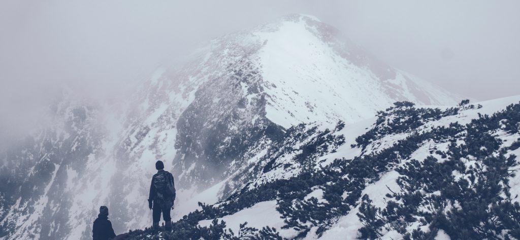 Climbing mountians
