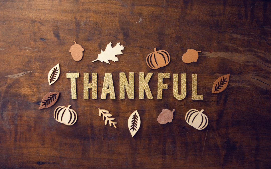 A Thanksgiving Reflection